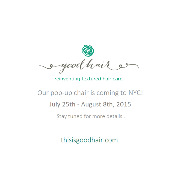 Our pop-up chair will be launching in NYC July 25th!  Stay tuned for more info!